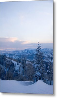 A View Out Over The Mountains Of Utah Metal Print by Taylor S. Kennedy