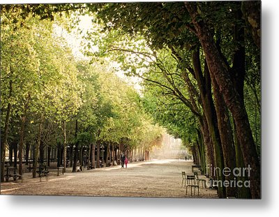 A Walk In The Park  Metal Print by Ivy Ho