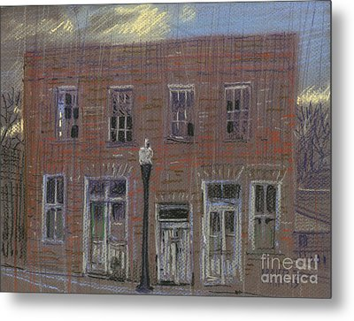 Abandoned Metal Print by Donald Maier