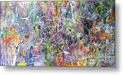Abstract #87 Metal Print