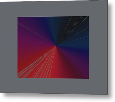 Abstract Metal Print by Contemporary Art