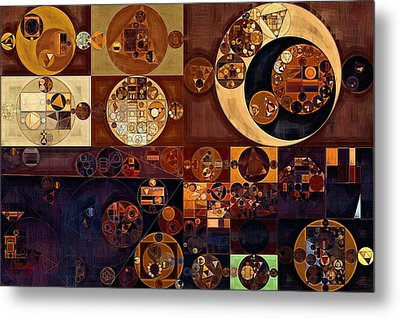 Abstract Painting - Russet Metal Print