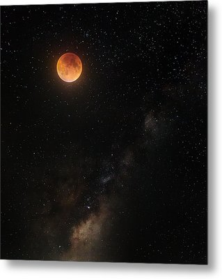 Across The Universe Metal Print by Bill Wakeley