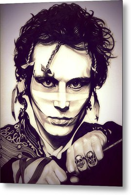 Adam Ant Metal Print by Fred Larucci