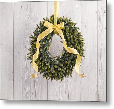 Metal Print featuring the photograph Advents Wreath by Ulrich Schade