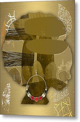 African Queen Metal Print