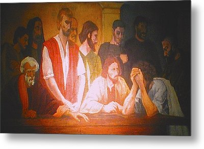 After The Last Supper Metal Print by G Cuffia