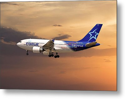 Air Transat Metal Print