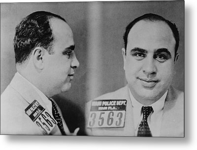 Al Capone 1899-1847, Prohibition Era Metal Print by Everett