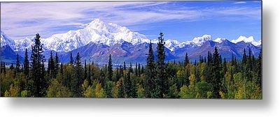 Alaska Range, Denali National Park Metal Print by Panoramic Images