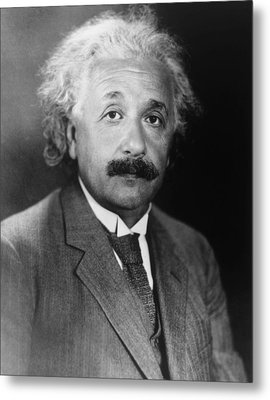 Albert Einstein 1879-1955 Metal Print by Everett