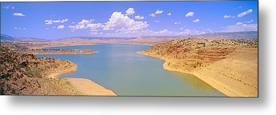 Albiquiu Reservoir, Route 84, New Mexico Metal Print by Panoramic Images