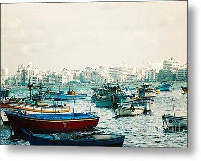 Alexandrian Harbour Metal Print