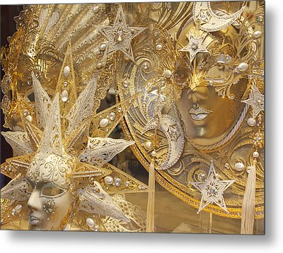 All That Glitters Metal Print by Elvira Butler