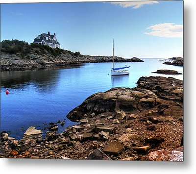 Metal Print featuring the photograph Almost Paradise Newport Ri by Tom Prendergast