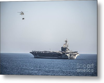 An Mh-60s Sea Hawk Helicopter Metal Print by Celestial Images