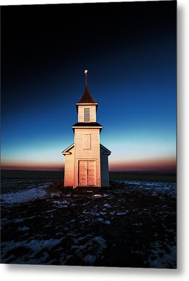 And There Was Light Metal Print by Todd Klassy