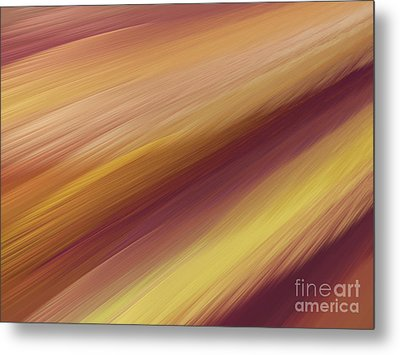 Metal Print featuring the digital art Andee Design Abstract 76 2017 by Andee Design