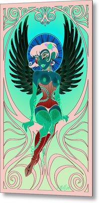 Angelique Metal Print by Cristina McAllister