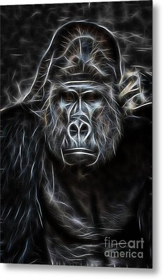 Ape Collection Metal Print by Marvin Blaine