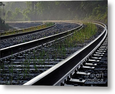 Metal Print featuring the photograph Around The Bend by Douglas Stucky