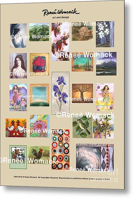 Art Collection Metal Print