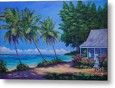At The Island's End Metal Print