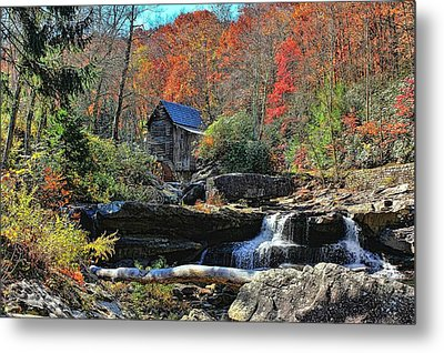 Autumn In West Virginia  Metal Print by Lanis Rossi