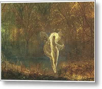 Autumn Metal Print by John Atkinson Grimshaw