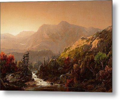 Autumn Landscape Metal Print by William Louis Sonntag
