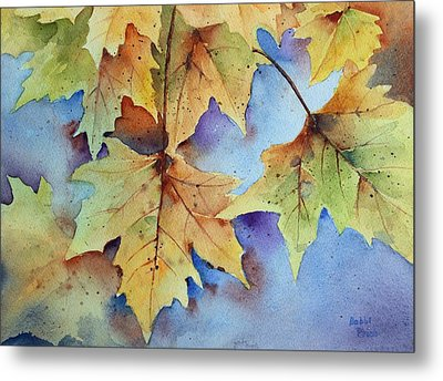 Autumn Splendor Metal Print by Bobbi Price