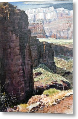 Back Of Zion Metal Print by Bob Duncan