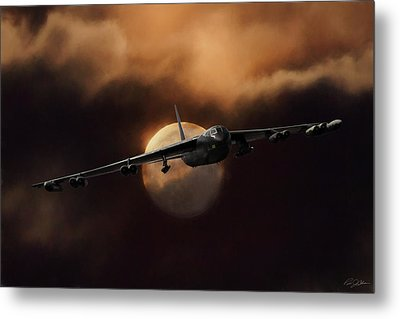 Bad Moon Rising Metal Print by Peter Chilelli