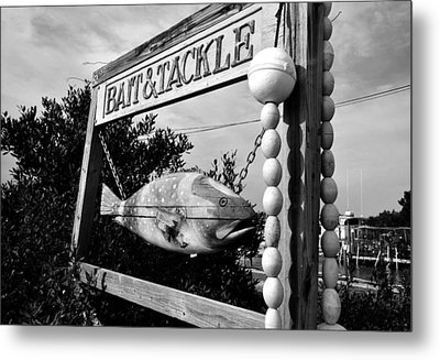 Bait And Tackle Metal Print by David Lee Thompson
