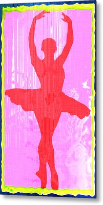 Ballet Dancer Metal Print by David G Paul