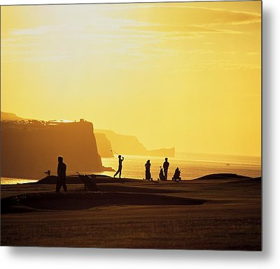 Ballycastle Golf Club, Co Antrim Metal Print by The Irish Image Collection