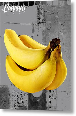 Banana Collection Metal Print