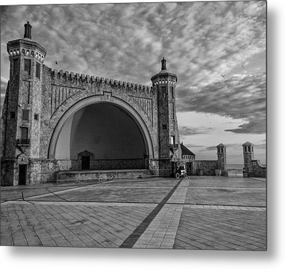 Band Shell Metal Print
