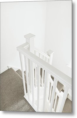 Bannister Metal Print by Tom Gowanlock