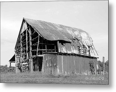 Barn In Kentucky No 75 Metal Print by Dwight Cook