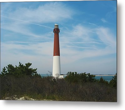 Barnegat Lighthouse - New Jersey Metal Print by Bill Cannon