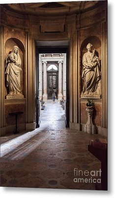 Baroque Chapel Metal Print