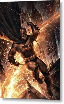 Batman The Dark Knight Returns 2012  Metal Print by Caio Caldas