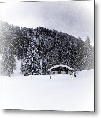 Bavarian Winter's Tale Viii Metal Print