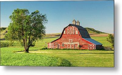 Beautiful Rural Morning Metal Print by Todd Klassy