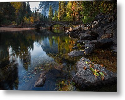 Beautiful Yosemite National Park Metal Print by Larry Marshall