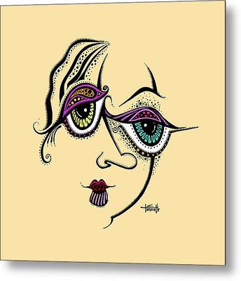 Beauty In Imperfection Metal Print by Tanielle Childers