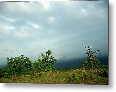 Before The Storm Metal Print by Bill Morgenstern