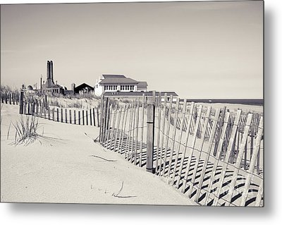 Metal Print featuring the photograph Beyond The Dunes by Colleen Kammerer