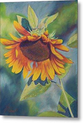 Big Sunflower Metal Print by Billie Colson